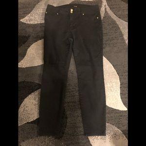 Black Iman skinny jeans size 12